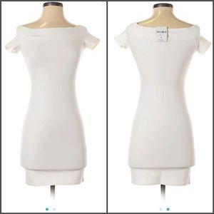 NWT white bodycon dress